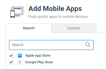 Deploying free or premium iOS App Store applications