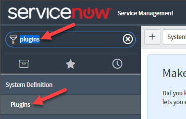 ServiceNow (previous versions)