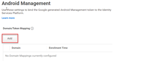 How to set up Android Management